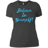 Believe in yourself  -  Next Level Ladies' Boyfriend T-Shirt - Royal Teez Xpress, [poduct_type] - mug, cup, tshirt, hoodie, phone case, tablet case, coaster, apron