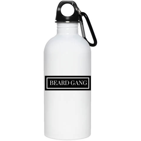 Beard Gang -Men's 20 oz. Stainless Steel Water Bottle - Royal Teez Xpress, [poduct_type] - mug, cup, tshirt, hoodie, phone case, tablet case, coaster, apron