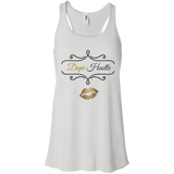 Dope Hustle - Bella + Canvas Flowy Racerback Tank - Royal Teez Xpress, [poduct_type] - mug, cup, tshirt, hoodie, phone case, tablet case, coaster, apron