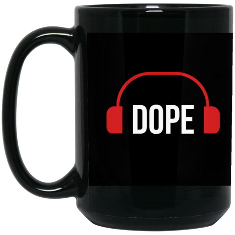 Dope Black Mug - Royal Teez Xpress, [poduct_type] - mug, cup, tshirt, hoodie, phone case, tablet case, coaster, apron