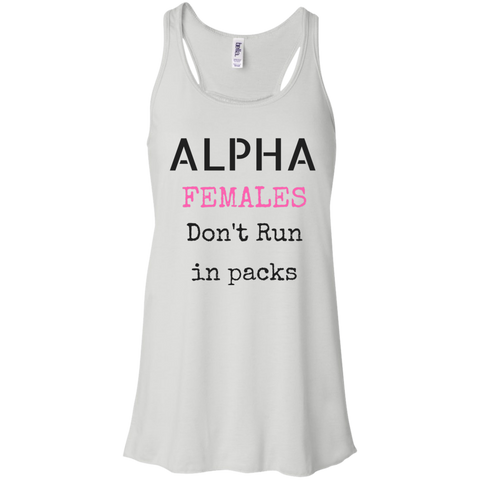 ALPHA Female - Bella + Canvas Flowy Racerback Tank - Royal Teez Xpress, [poduct_type] - mug, cup, tshirt, hoodie, phone case, tablet case, coaster, apron