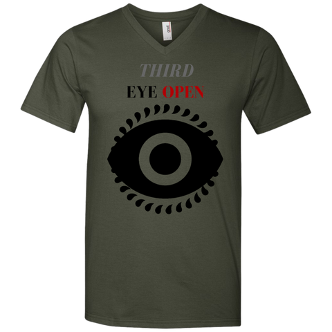 Third Eye Open - Men's Printed V-Neck T-Shirt - Royal Teez Xpress, [poduct_type] - mug, cup, tshirt, hoodie, phone case, tablet case, coaster, apron