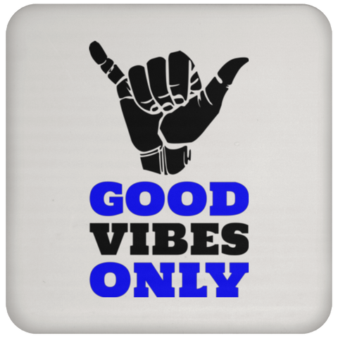 Good Vibes - Coaster - Royal Teez Xpress, [poduct_type] - mug, cup, tshirt, hoodie, phone case, tablet case, coaster, apron