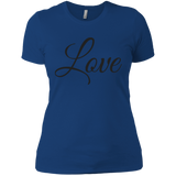 LOVE - Next Level Ladies' Boyfriend T-Shirt - Royal Teez Xpress, [poduct_type] - mug, cup, tshirt, hoodie, phone case, tablet case, coaster, apron