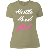 Hustle Hard  -  Next Level Ladies' Boyfriend T-Shirt - Royal Teez Xpress, [poduct_type] - mug, cup, tshirt, hoodie, phone case, tablet case, coaster, apron