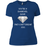 Diamond Dear - Next Level Ladies' Boyfriend T-Shirt - Royal Teez Xpress, [poduct_type] - mug, cup, tshirt, hoodie, phone case, tablet case, coaster, apron