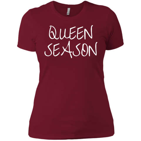 Queen Season - Next Level Ladies' Boyfriend T-Shirt
