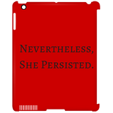 Nevertheless -iPad Clip Case - Royal Teez Xpress, [poduct_type] - mug, cup, tshirt, hoodie, phone case, tablet case, coaster, apron