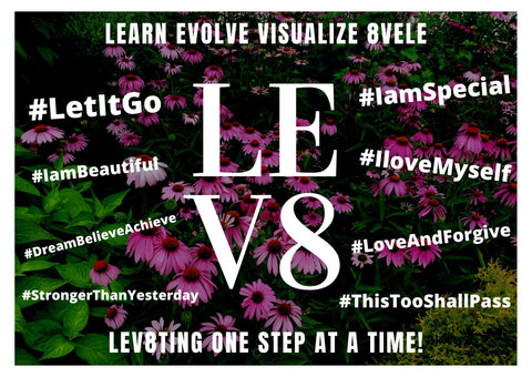 LEV8 Apparel's motto of self-love and mission of forgiveness created by Jessica Ogunnorin