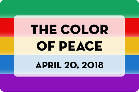 The color of peace event in ACS athens
