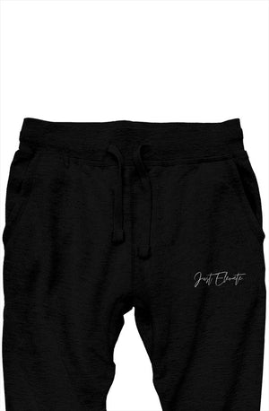Open image in slideshow, Premium Élégante Joggers - Black
