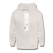 Load image into Gallery viewer, Just Elevate Shawl Collar Hoodie - heather oatmeal