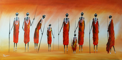 The Maasai Hunt