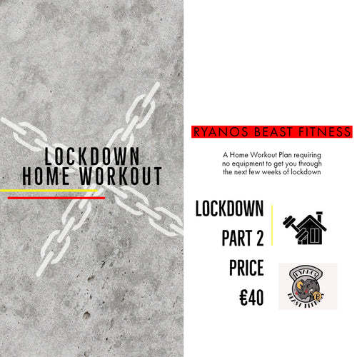 Lockdown No Equipment Home Workout