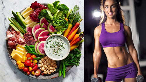 8 Week Womens Standard Diet and Gym Plan for Strength / Muscle Gain bundle