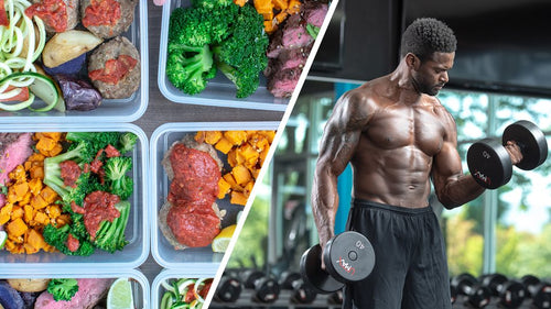 8 Week Mens Standard Diet and Gym Plan Strength / Muscle Gain bundle