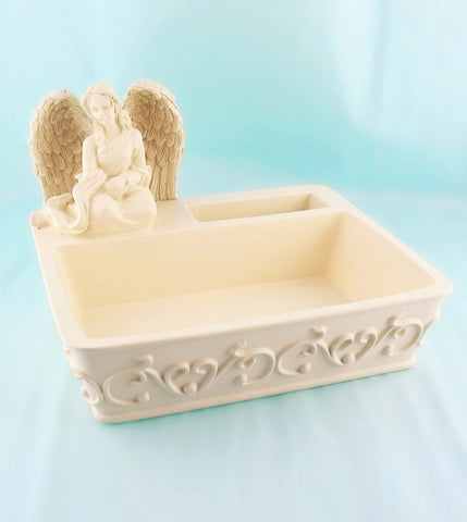 Angel Organizer Dish Home Office Decor Bowls
