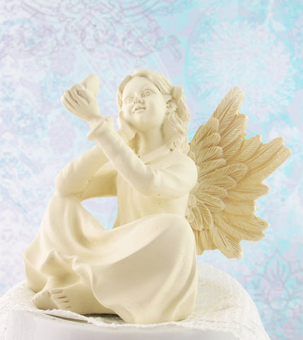 Angel of Harmony with Butterfly Figurine | The Kindness Of Angels
