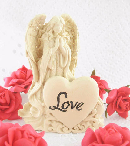 Small Angel of Love Figurine-Figurines > Small