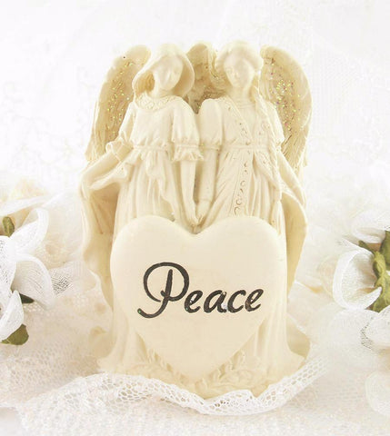 Inspiring Angels of Peace Figurine available from The Kindness Of Angels