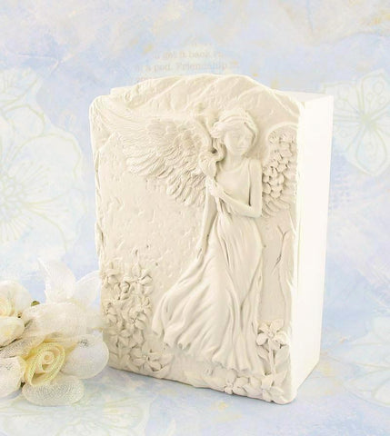 Decorative Angels Among Us Floral Keepsake Box available from The Kindness Of Angels