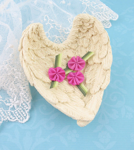 Small Angel Wings Holder | Decorative Display Bowl