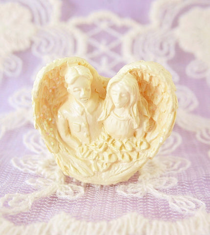 Tiny Angel of Love Pocket Figurine | The Kindness of Angels