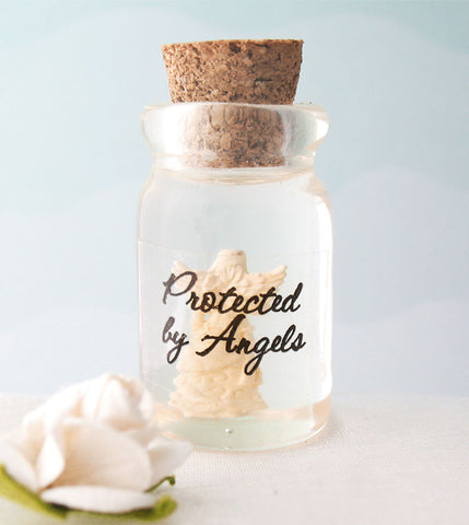 Tiny Angel in a Bottle-Pocket Angels > Angels in a Bottle