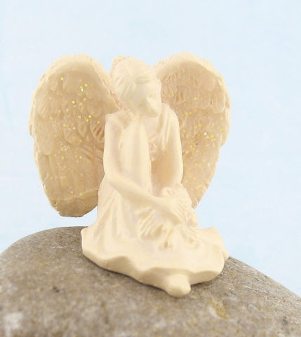 Tiny Angel of Serenity Pocket Figurine | The Kindness of Angels
