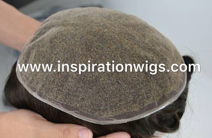 Full swiss or French  lace Toupee