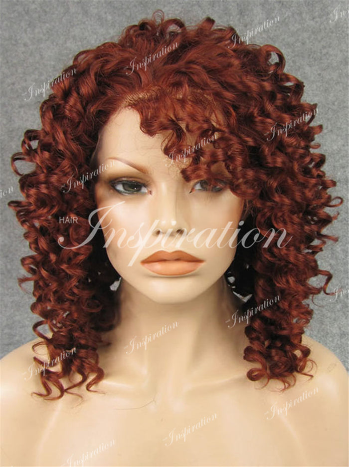 Rihanna Fire Curl Lace Front Wigs N15 (13inch)