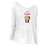 The I'm Old Fashioned Long Sleeve T-Shirt in White - Foodie Fatale