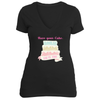 The Have Your Cake Short Sleeve T-Shirt in Black - Foodie Fatale