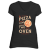 The Pizza In the Hand Short Sleeve T-Shirt in Black - Foodie Fatale