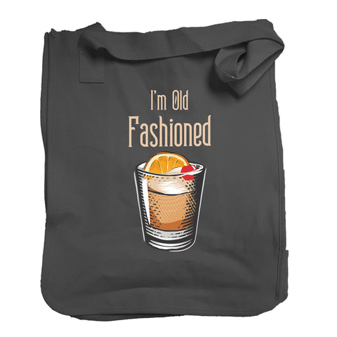The I'm Old Fashioned Tote in Black - Foodie Fatale