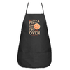The Pizza In the Hand Apron in Black - Foodie Fatale