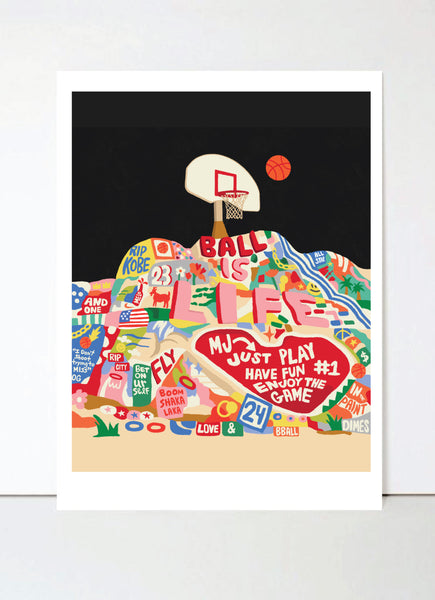 Salvation Mountain Hoops