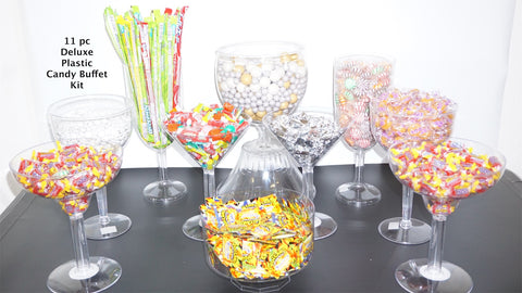 Plastic Candy Jars For Buffet Best Plastic 2018