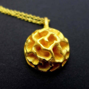 Fossil Acritarch Pendant Pendant [Ontogenie Science Jewelry]