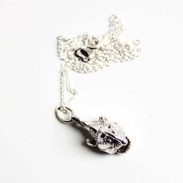Anglerfish Necklace Marine Biology Jewelry Ontogenie