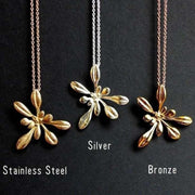 Arabidopsis Rosette large Pendant [Ontogenie Science Jewelry]