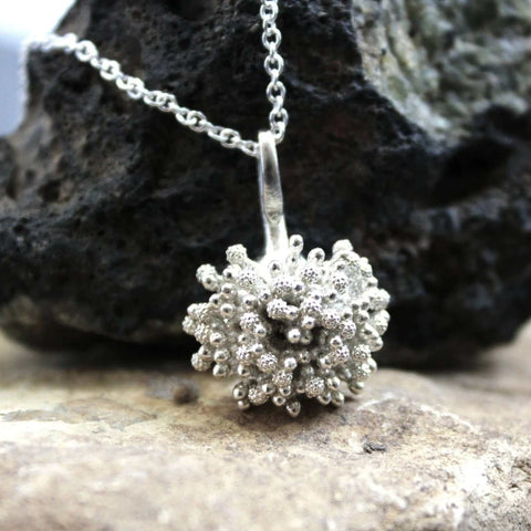 Aspergillus Fungus Pendant Pendant [Ontogenie Science Jewelry]