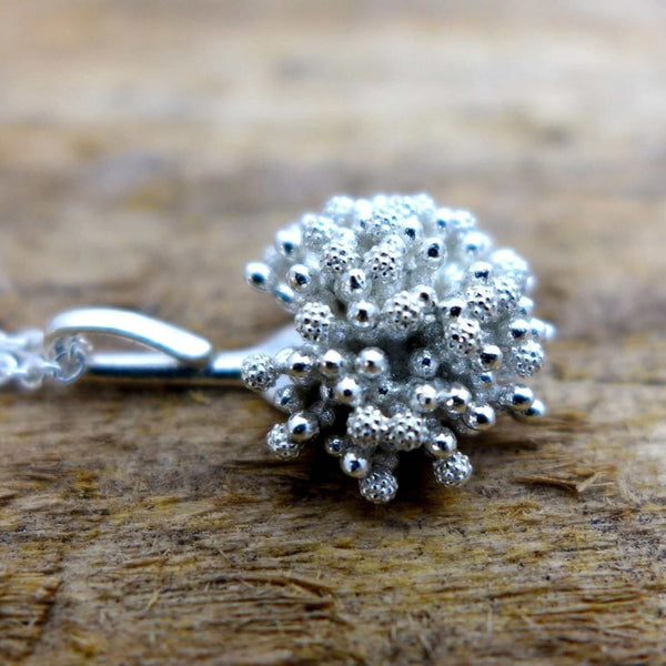 Aspergillus Fungus Pendant Pendant [Ontogenie Science Jewelry] sterling silver 40 cm/16 in