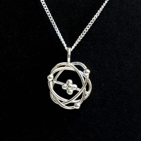 Atomic Model Pendant Pendant [Ontogenie Science Jewelry]