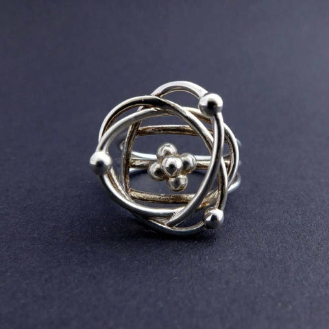 Atomic Model Ring Ring [Ontogenie Science Jewelry]