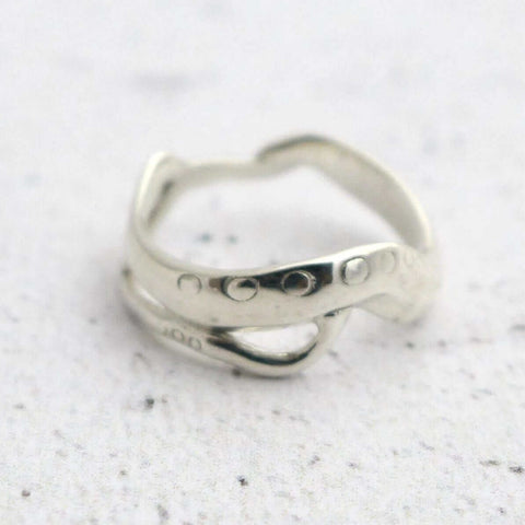 C. elegans Ring Ring [Ontogenie Science Jewelry]