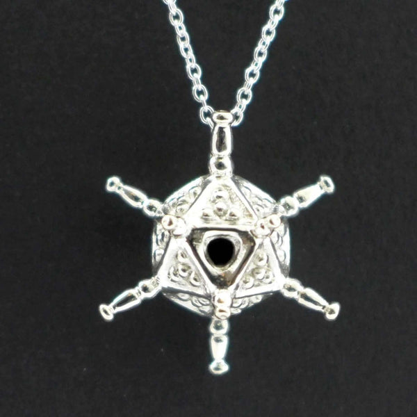 Circogonia Radiolarian Pendant Pendant [Ontogenie Science Jewelry]