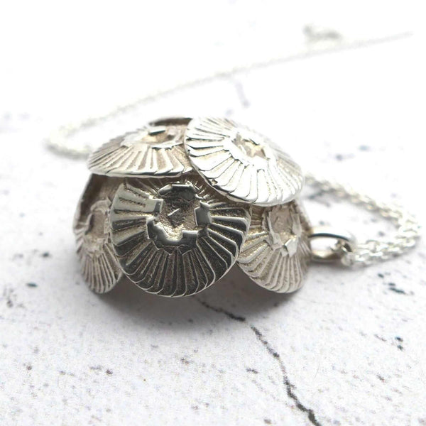 Coccolithus Pendant Pendant [Ontogenie Science Jewelry] sterling silver 40 cm/16 in