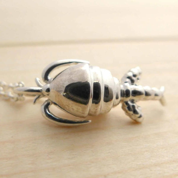 Copepod Pendant Pendant [Ontogenie Science Jewelry]