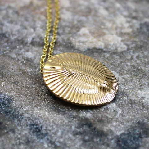 Dickinsonia Fossil Pendant Pendant [Ontogenie Science Jewelry]